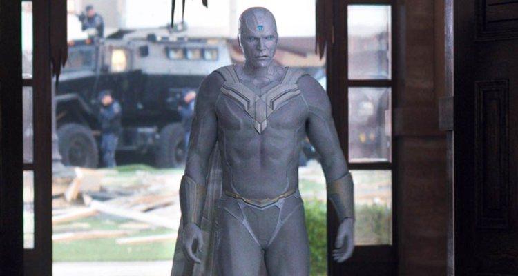 Белый Вижен был вырезан из «Мстителей: Война бесконечности»