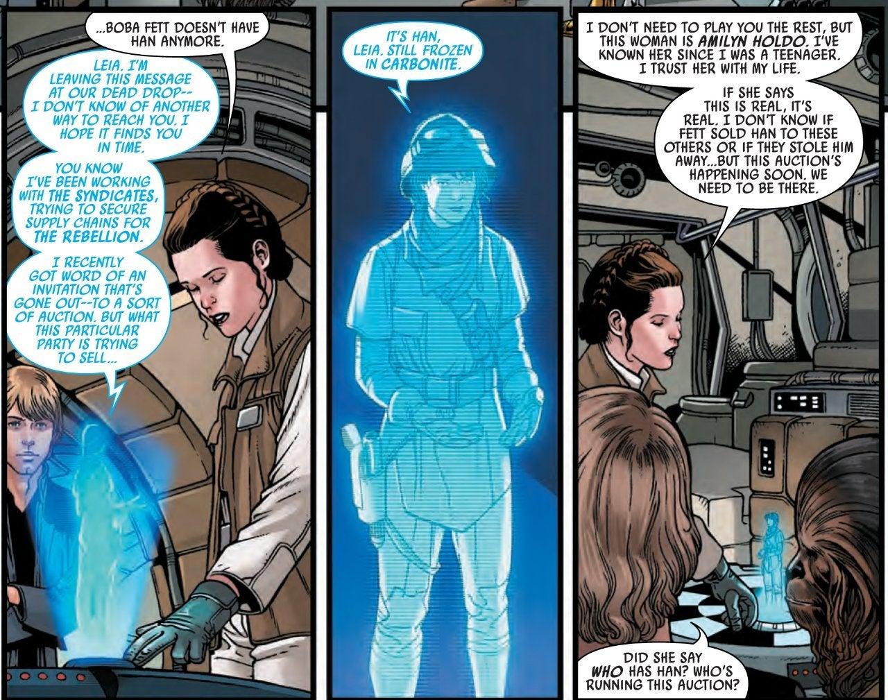 Персонаж из «Последних джедаев» вернулся в «Звездных войнах»
