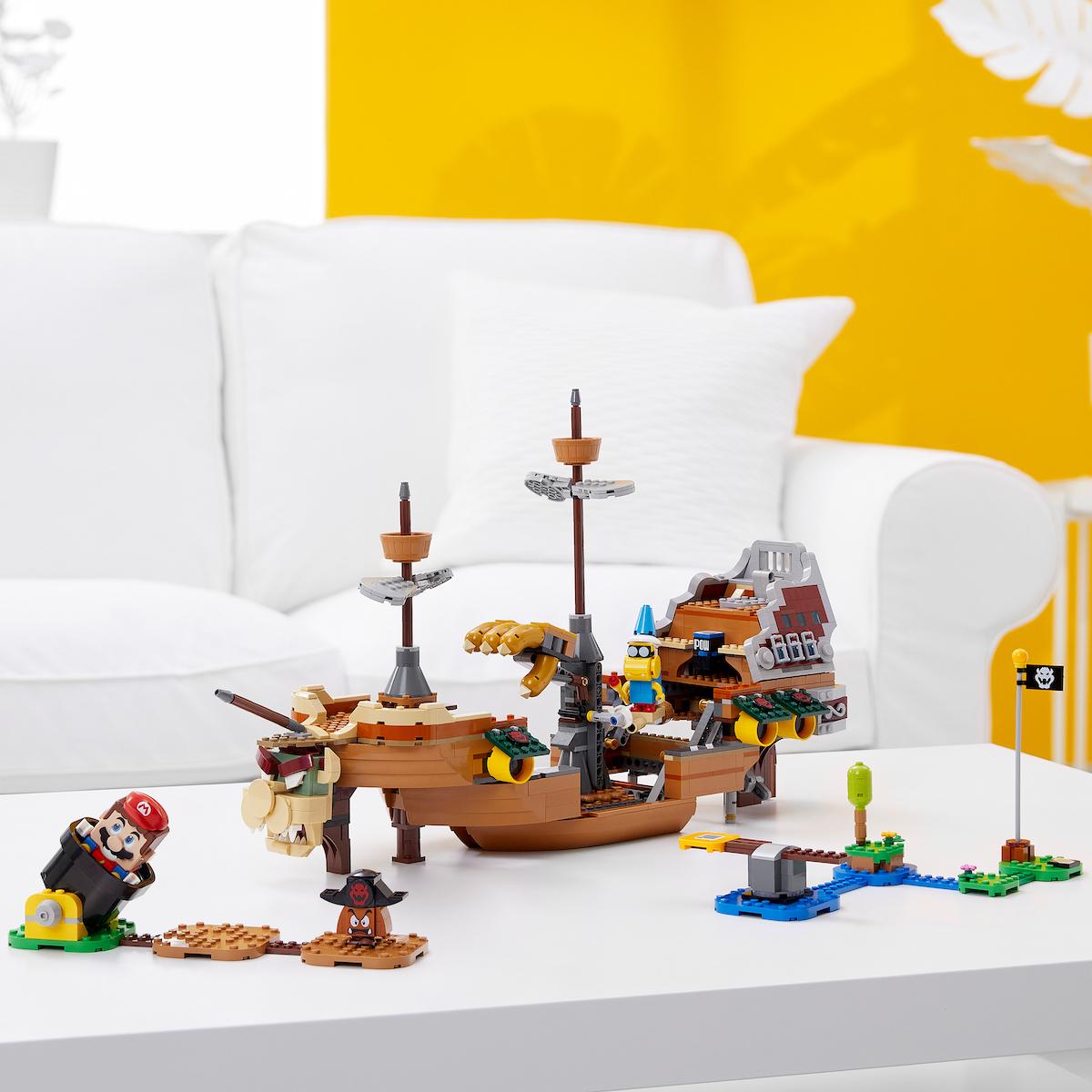 Наборы LEGO с Марио получили кооператив