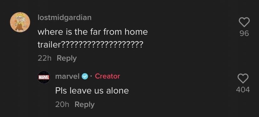 Marvel отреагировали на трейлер «Человека-паука 3: Нет пути домой»