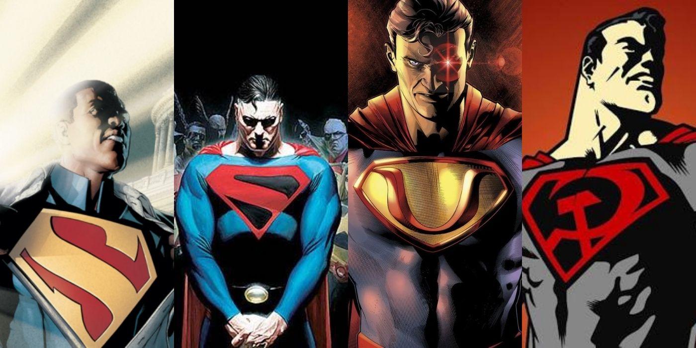 Сразу несколько версий Супермена могут существовать в фильмах DC