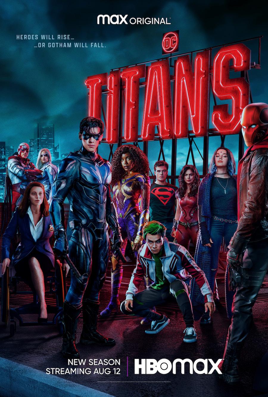 Найтвинг заменяет Бэтмена в трейлер 3 сезона сериала «Титаны»