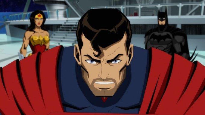 Супермен и Бэтмен на первом кадре экранизации Injustice