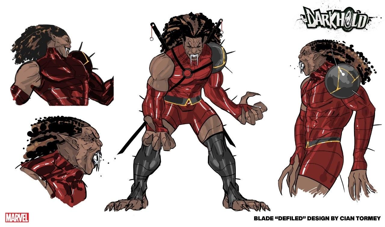 Marvel показали новый дизайн Блэйда