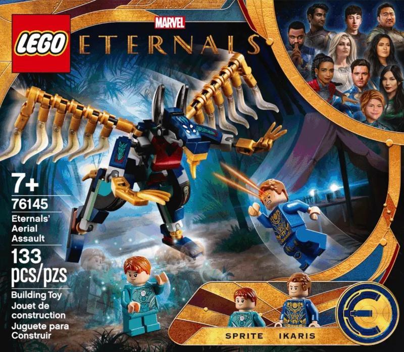 Наборы LEGO раскрыли спойлеры фильма «Вечные»