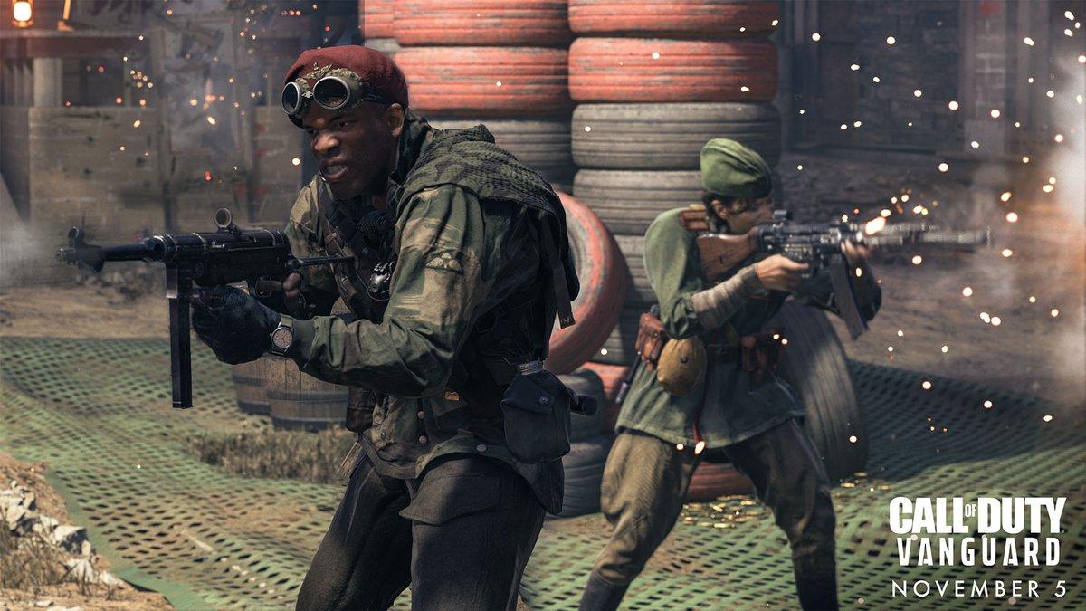 Первые впечатления от Call of Duty: Vanguard - мультиплеер