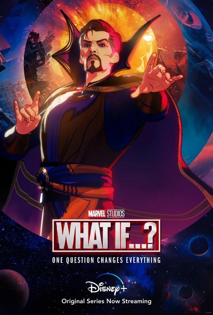 Злой Доктор Стрэндж на постере 4 эпизода  «Что, если…?»