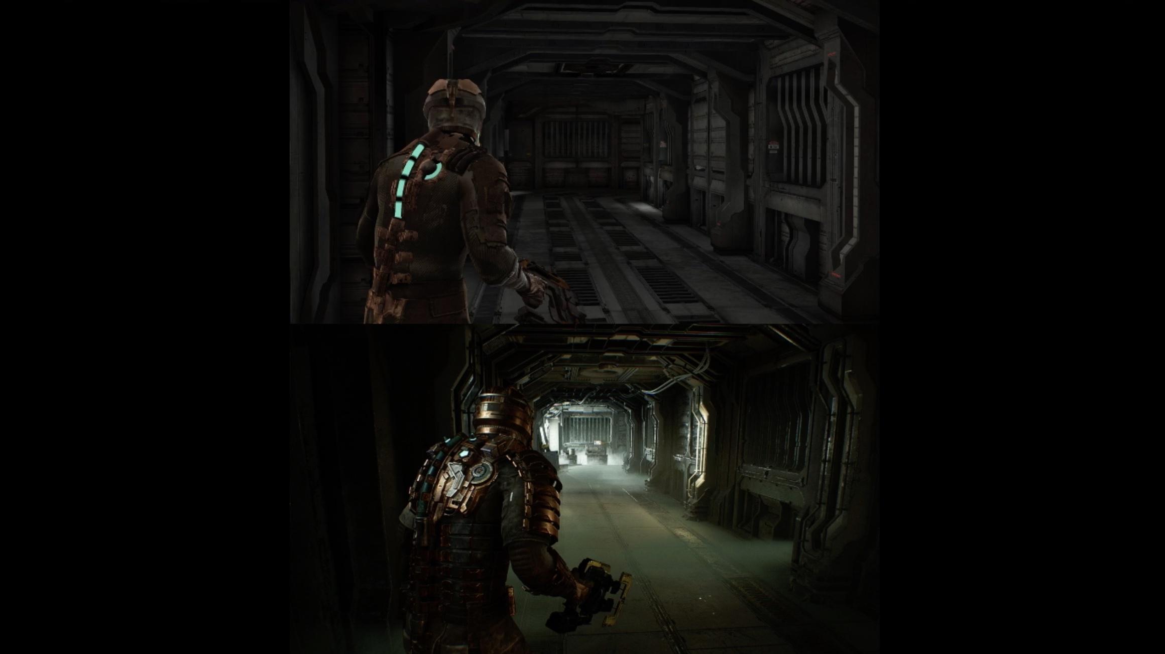 Представлен первый геймплей Dead Space. Сравнение с оригиналом