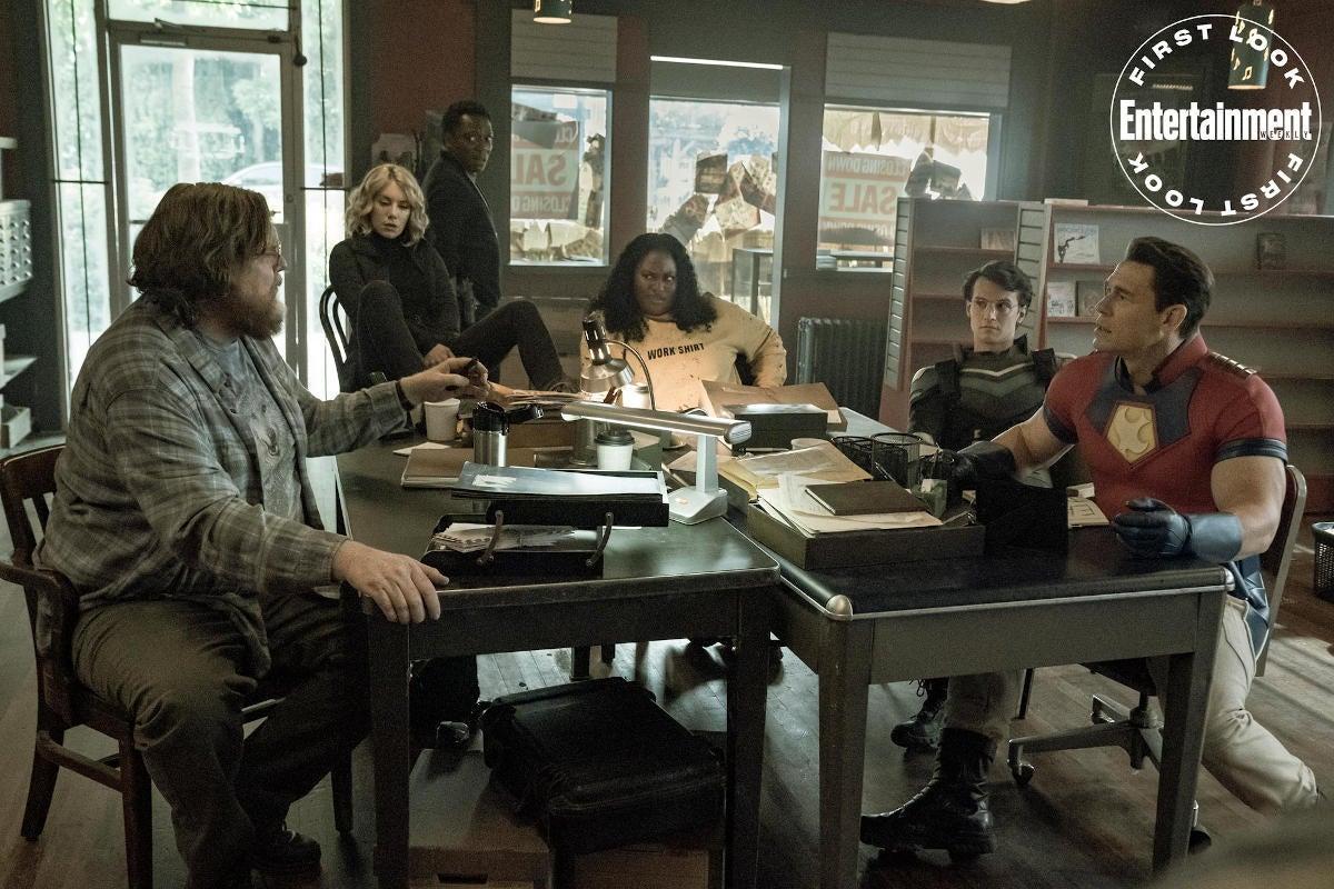 Представлен первый кадр сериала «Миротворец», спин-оффа «Отряда самоубийц 2»