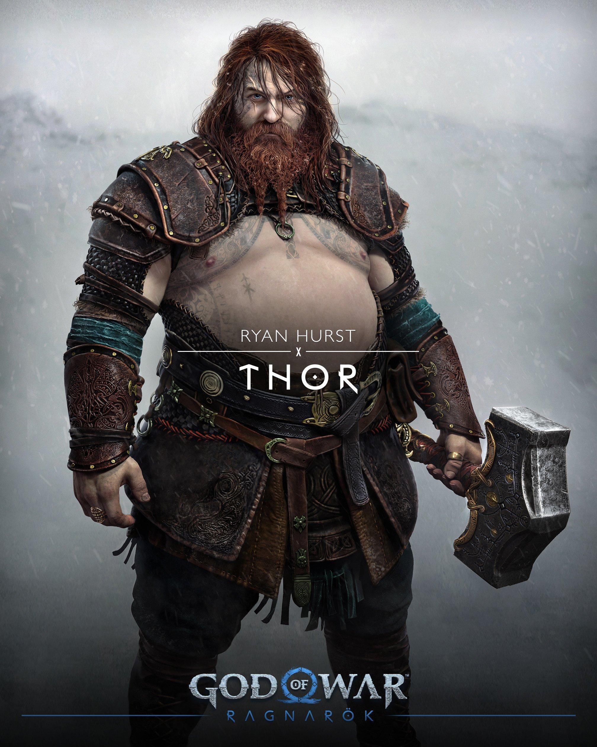 Объяснено, чем хороша внешность Тора из God of War Ragnarok