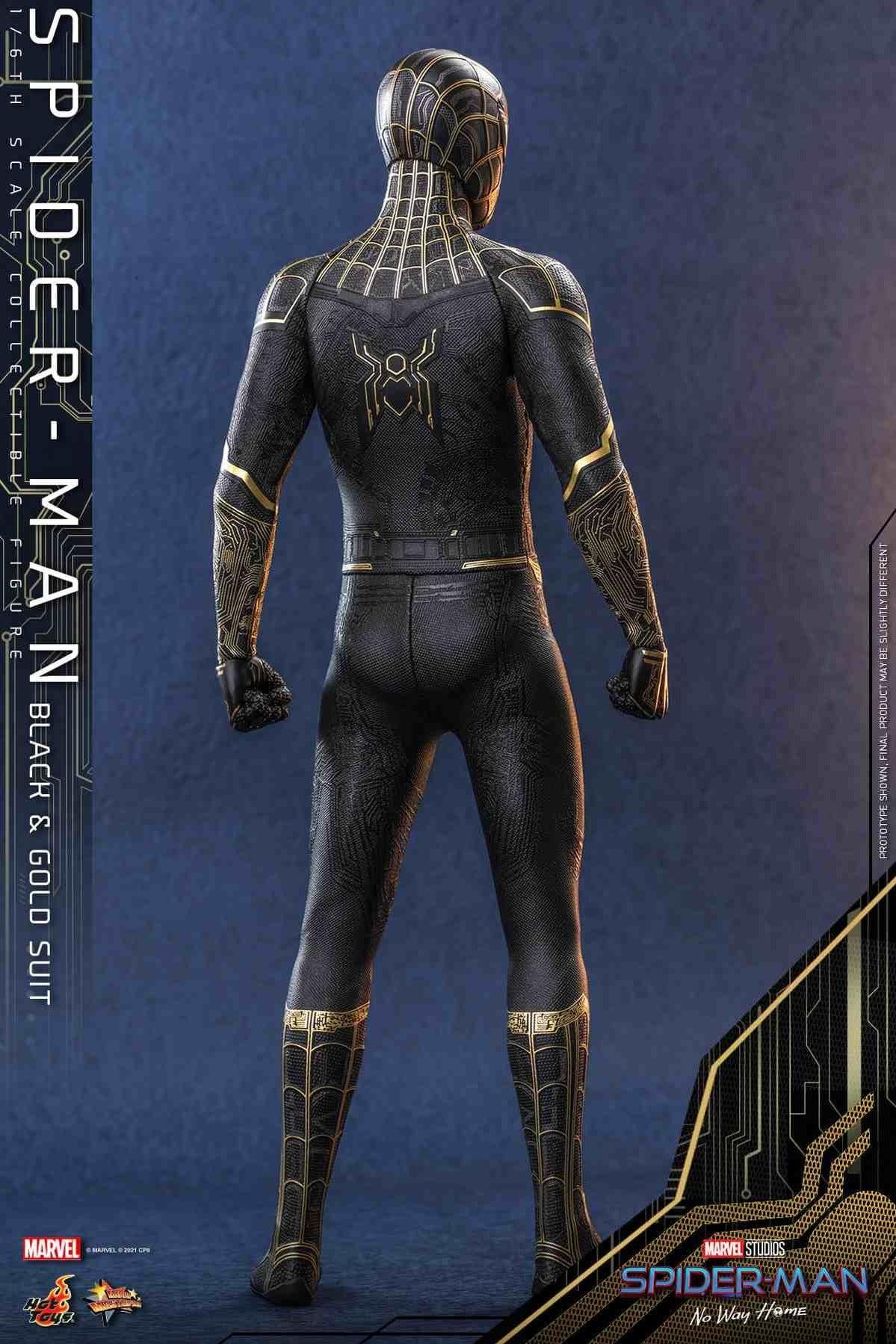 Обновленный взгляд на черный костюм Человека-паука в MCU