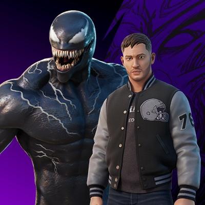 Показана трансформация Эдди Брока в Венома в игре Fortnite