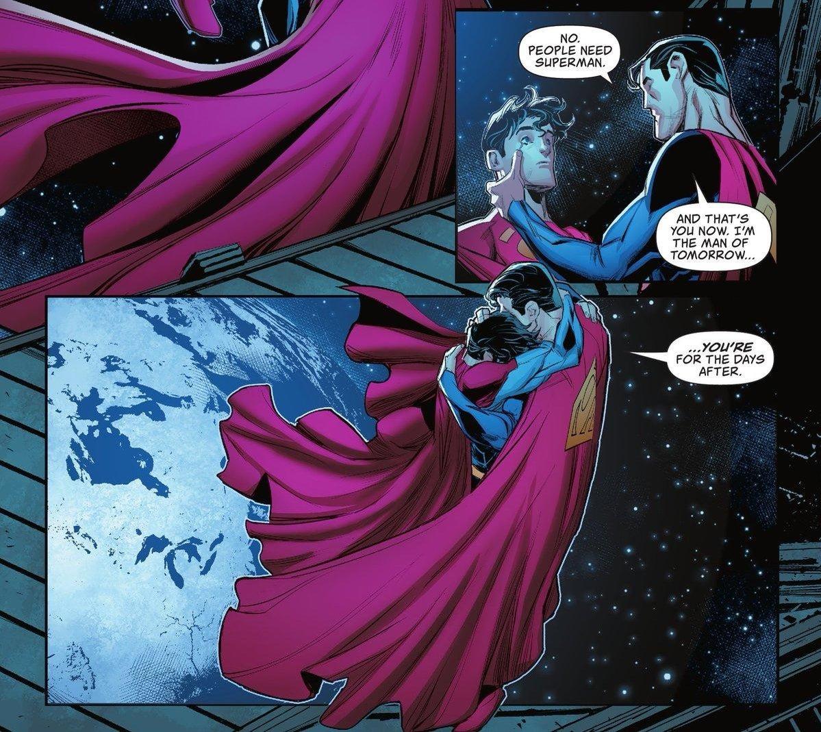DC официально представили нового Супермена