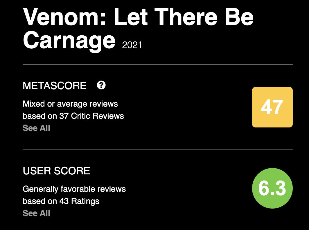 Почему «Веном 2» - плохой фильм