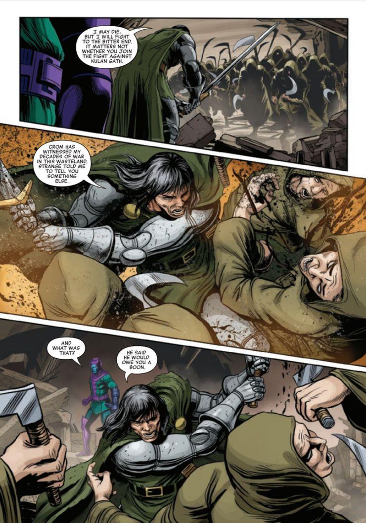 Канг Завоеватель стал главным фанатом Marvel