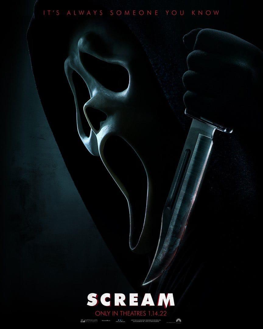 Появился постер хоррор «Крик 5»