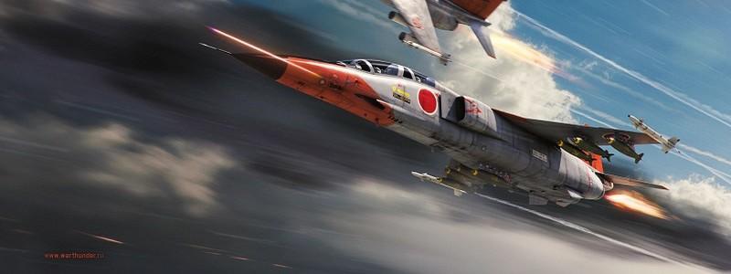 Сверхзвуковые самолеты в обновления 1.87 для War Thunder